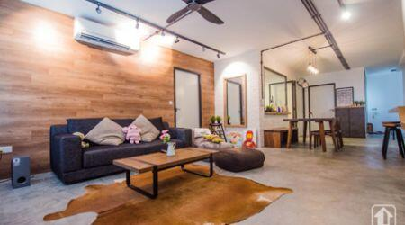 HDB Apartment with a Cafe Vibe